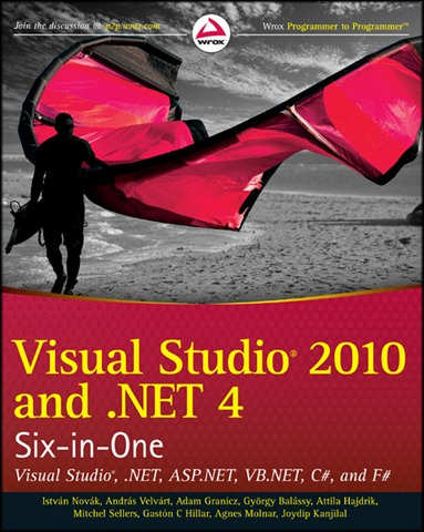 Visual Studio 2010 and .NET 4 Six-in-One könyv (Wiley)
